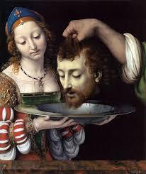 best renaissance images religious art salome the head of john the baptist by andrea solario 1507 acircmiddot st john shigh renaissanceitalian