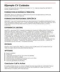 modelo curriculum modelo curriculum vitae de enfermeria tecnica ejemplo cv auxiliar