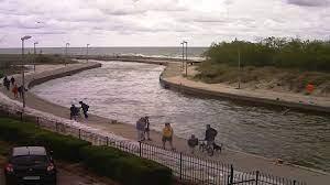 Rowy: Blick auf den Hafen - Webcam Galore