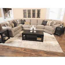 Pantomine 4PC with LAF Cuddler Sectional by Ashley Furniture is