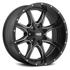 moto metal wheels. moto metal® - mo970 satin black with milled trim moto metal wheels