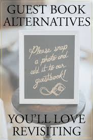 5 Creative Wedding Guest Book Alternatives Youll Love Revisiting