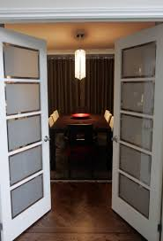 extraordinary interior french door with frosted glass style home decor sidelight transom and arched side panel blind built in
