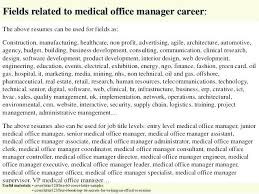 Medical Office Manager Cover Letter Office Manager Cover Letter Top 5 Medical Resume For Hotelodysseon
