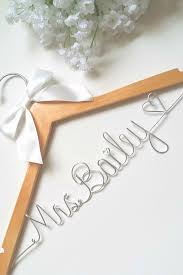 best 25 bridal hangers ideas on pinterest bridesmaid dress Wedding Hangers With Names a lovely custom bridal hanger for the lovely bride! we will put your future last wedding hangers with names how to