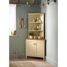 wilkinson furniture costwold corner dresser in buttermilk