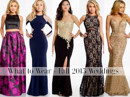 dress to wear to a wedding as a guest. what to wear: fall weddings dress wear a wedding as guest