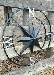 coastal metal wall decor nautical compass art r tranquility a