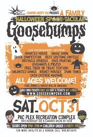 halloween sale flyer 7days7nights com goosebumps a family halloween spook tacular