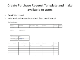 purchase request template purchase order form template sample requisition doc format