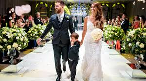 плачьте девушки месси женился свадьбы знаменитостей Weddingparté