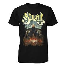 <b>Ghost</b> T Shirt | <b>Meliora</b> | Apparel | <b>Ghost</b> Store