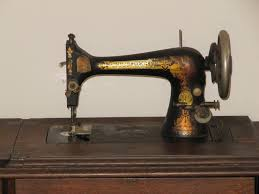 Antique Sterling Sewing Machine