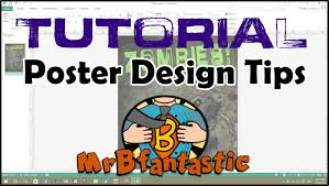 poster for school project school project poster tips tutorial youtube