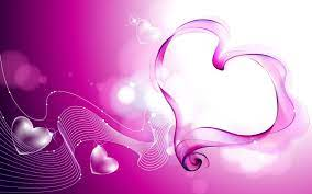 Romantic Heart Background Wallpaper