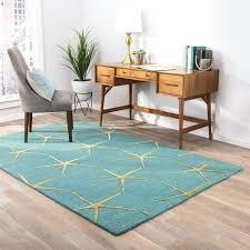coastal area rugs aqua blue hand tufted wool area rug coastal area rugs 6 x 9