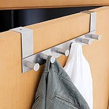 Image Rack Chrome Bold Design Door Coat Hanger Architecture The Container Store Pretty Inspiration Ideas Door Coat Hanger Architecture