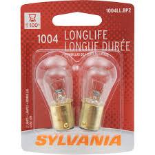 Automotive Miniature Bulb Chart Sylvania 1004 Long Life Miniature Bulb Contains 2 Bulbs