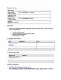 requirements document template project requirements document template professional template