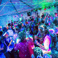 lighting glow the dark theme planning pertaining proportions tekno bubbles and blacklights make a party