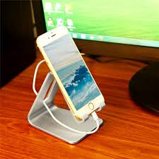 universal cell phone desk stand holder for iphone 6s plus samsung charger dock station for smartphone