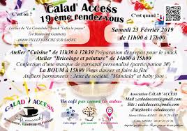 Café Associatif Et Culturel Calad Access Rencontre Handicap Et