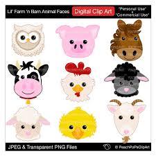 baby farm animals clip art. Wonderful Art Baby Animals Clipart On Etsy Popular Items For Barn Etsy Throughout Baby Farm Animals Clip Art