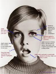 1960s mad men megan twiggy mod makeup look chicandalluring
