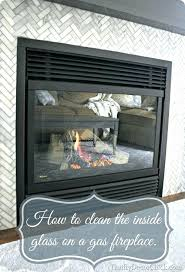 gas fireplace glass cleaning fireplace cleaner home depot gas fireplace glass regency