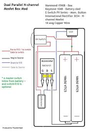 considering super sub ohm building need some advice vaping here s a wiring diagram for convenience though there s an entire th about mosfet unregulated boxes in the builder s corner for advice