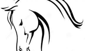 Kleurplaat Paardenhoofd Kleurplaat Voor Kinderen