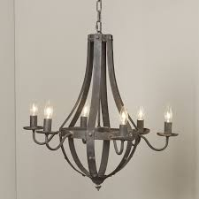 candle light chandelier with regard to well known birch lane foulds 6 light candle style
