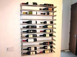 metal wine racks hanging wine racks metal white wood wine rack image of wall wine rack