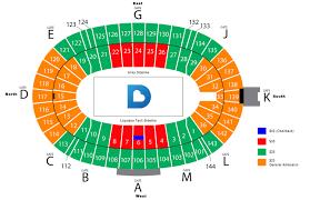 Detailed Cotton Bowl Stadium Seating Chart Rows Cotton Bowl