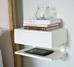 Innovative Ikea Wall Mounted Bedside Table Best 25 Floating Nightstand  Ideas On Pinterest Floating