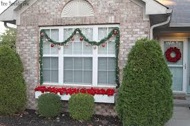 red and white outdoor christmas decorations