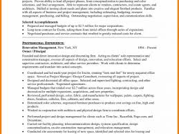Interior Design Resume Interior Design Resume Sample Regarding
