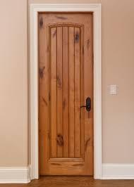 Interior Door - Custom - Single - Solid Wood with Light Knotty ...