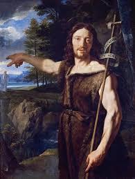 Resultado de imagem para joão batista afirma jesus como cordeiro