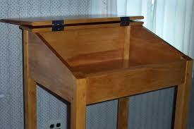 plans for standing desk by chuckv lumberjocks com woodworking community 12