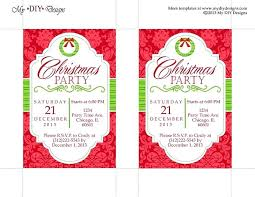 Work Christmas Party Flyers Free Printable Christmas Party Flyers Festival Collections