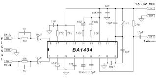 circuits > schematic diagram ba1404 stereo transmitter circuit schematic diagram ba1404 stereo transmitter circuit schematic