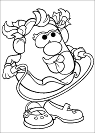mr and mrs potato head coloring pages. Fine Potato Inside Mr And Mrs Potato Head Coloring Pages O
