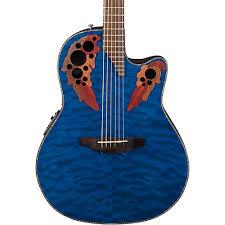 Ovation Celebrity Elite Plus Acoustic-Electric Guitar Quilted ... & Ovation Celebrity Elite Plus Acoustic-Electric Guitar Adamdwight.com