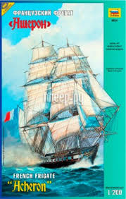 <b>Сборная модель Zvezda Французский</b> фрегат Ашерон 9034
