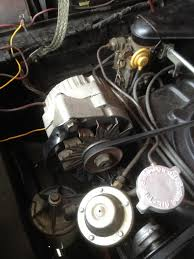 alternator issue was not the corvair reverse fan was by seeing that the new one was exactly the same and then going online to look at images of a corvair alternator