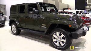 jeep wrangler 2015 interior. 2015 jeep wrangler unlimited sahara exterior and interior walkaround ottawa auto show youtube 1