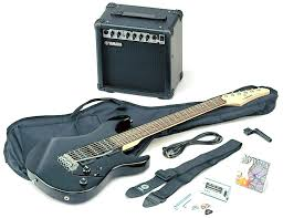 yamaha electric guitar. yamaha erg121 gigmaker electric guitar \u0026 amp basic pack - black gloss: amazon.co.uk: musical instruments