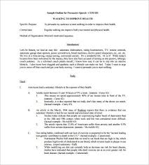 presentation outline template pdf sample speech outline template  presentation outline template pdf persuasive speech outline template 8 word excel pdf