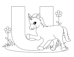 Small Picture Beautiful Letter U Coloring Page Gallery New Printable Coloring